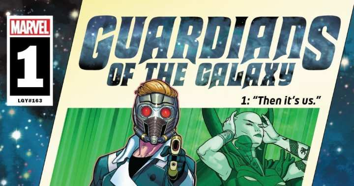 Space is the Place to Be in the Guardians of the Galaxy #1 Trailer