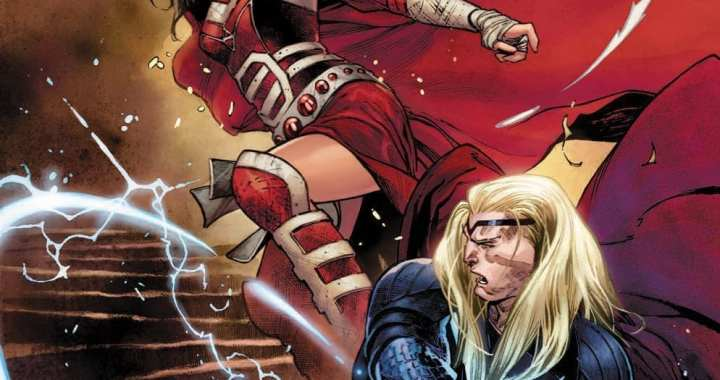 It's All Love & War With Olivier Coipel's Thor #4 Cover
