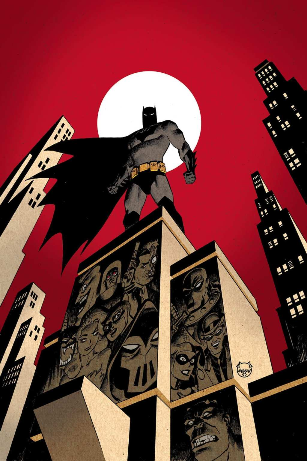 Batman: The Adventures Continue #1 cover by Dave Johnson