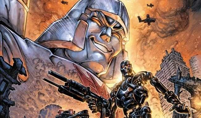 NEWS 'TRANSFORMERS VS. THE TERMINATOR' IN MARCH