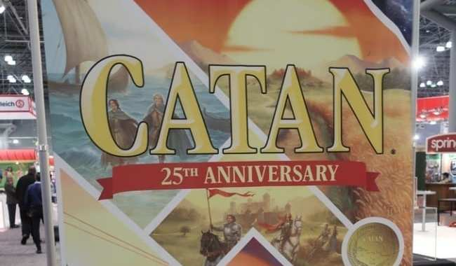 TWO NEW VERSIONS OF 'CATAN' FOR GAME'S 25TH ANNIVERSARY