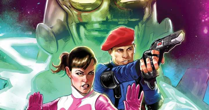The Future of the Time Force is Revealed in the New OGN Power Rangers: Sins of the Future