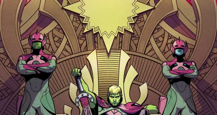 Hulkling Takes the Throne in Jamie Mckelvie's Empyre #1 Cover