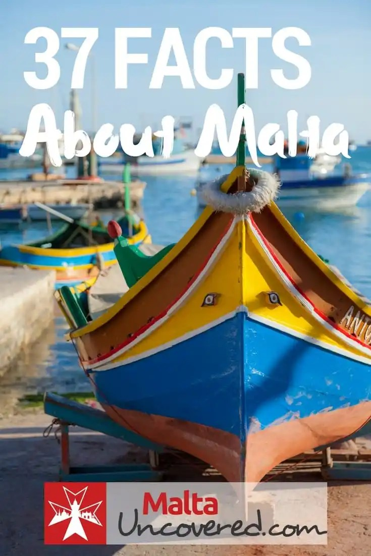 37 Facts about Malta you probably didn't know.