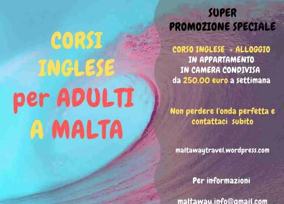 Corso Inglese a Malta, zero Covid, pochi Euro … what else?