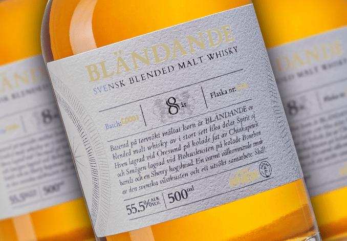 Bländande - Svensk Blended Malt Whisky