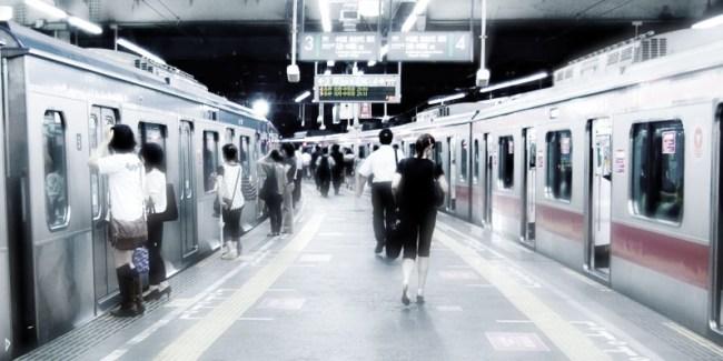東急渋谷駅ホーム