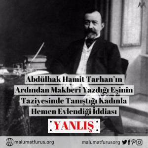 Abdulhak Hamit Tarhan makber