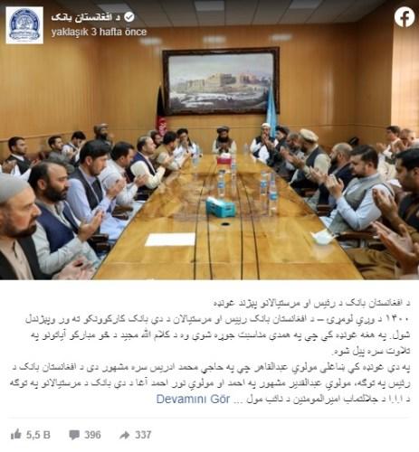 afgan merkez bankası toplantı