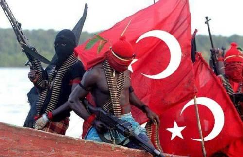 afrikalı kabileler türk bayrağı