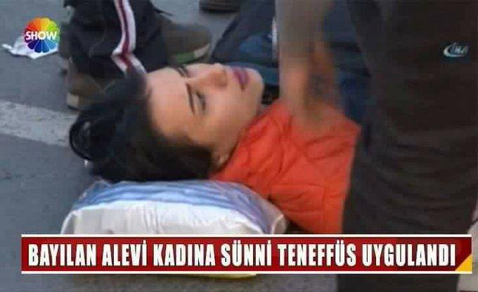 """Haberde """"Alevi kadına Sünni teneffüs"""" altbandı kullanıldığı iddiası asılsızdı"""