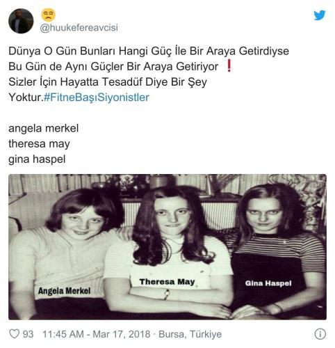 Angela Merkel Theresa May Gina Haspel