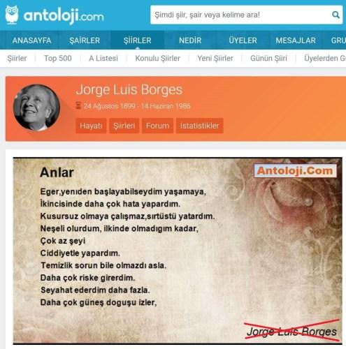 Borges anlar