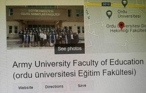 ordu üniversitesi army university
