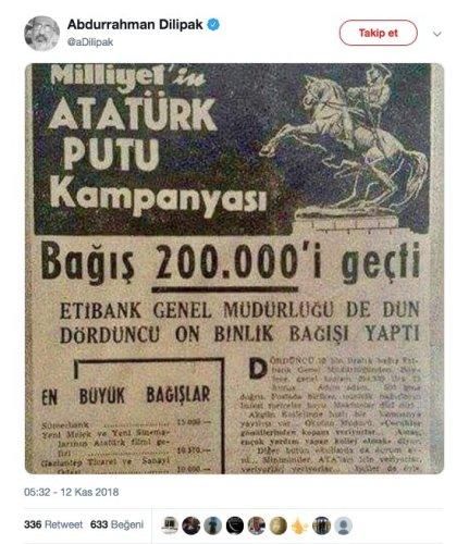atatürk putu kampanyası paylaşımı