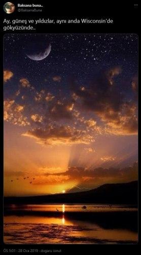ay güneş yıldızlar