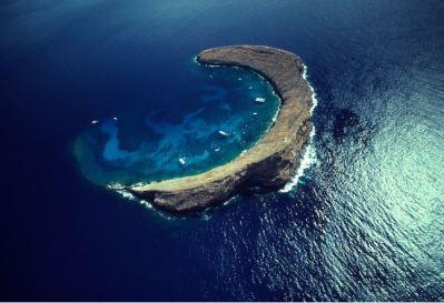 Ay yıldız şeklinde olduğu sanılan ada
