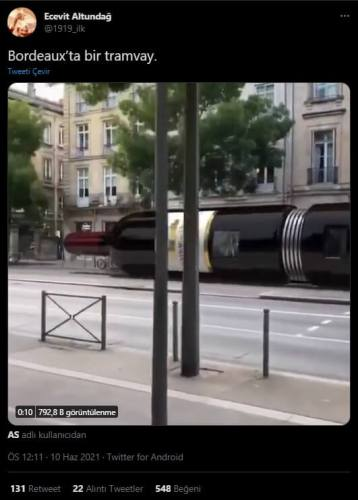 bordeuaxta tren