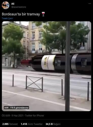 bordeuaxta tramway