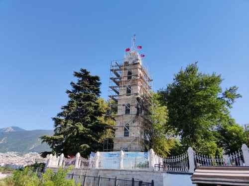 Bursa Tophane Saat Kulesi PVC