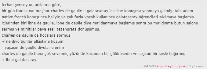 charles de gaulle ibne galatasaray