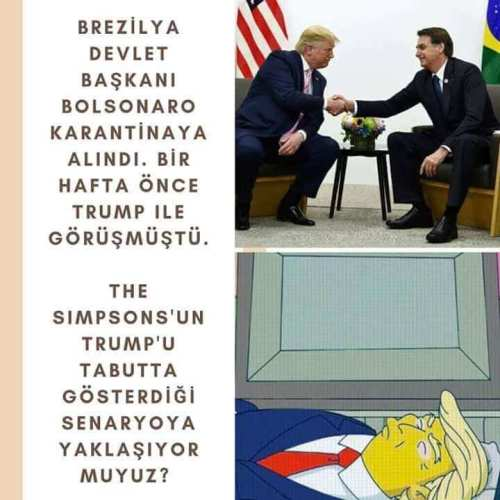 simpsons donald trump ölümü