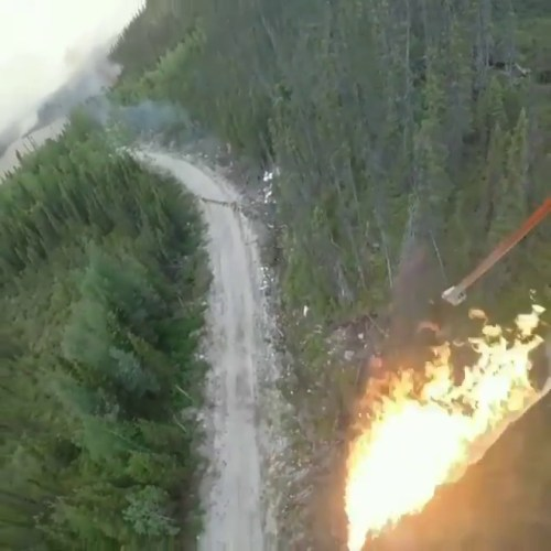 drone karşı ateş uygulaması