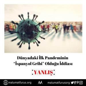 dünyadaki pandemiler