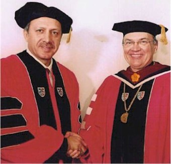 erdoğan fahri doktora st johns university