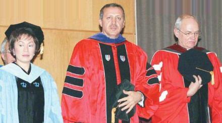 Erdoğan yahudi cesaret ödülü takdimi sanılan fotoğraf