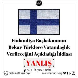 finlandiya türklere vatandaşlık