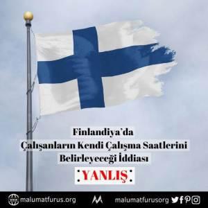 finlandiya esnek çalışma saatleri