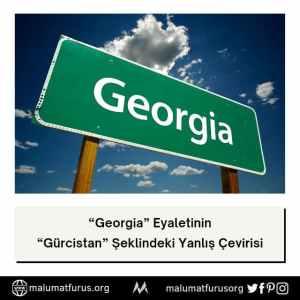georgia gürcistan çevirisi