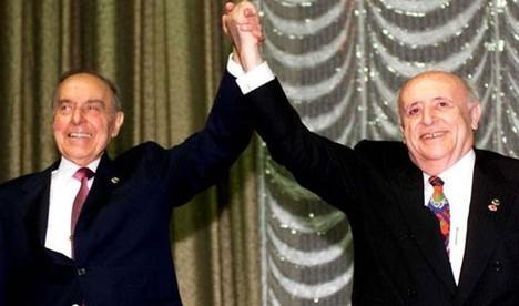 Süleyman Demirel ve İlham Aliyev