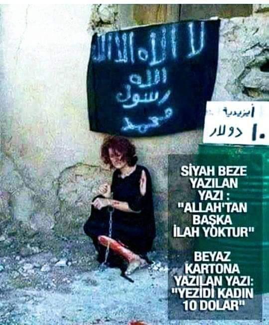 IŞİD tarafından 10 dolara satılan kadına ait sanılan fotoğraf