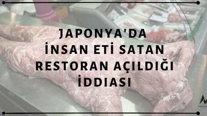 Japonya'da İnsan Eti Satan Restoran Açıldığı İddiası Asılsız