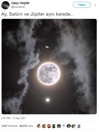jüpiter satürn ay