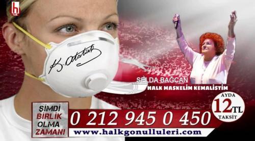 K.Atatürk imzalı maske