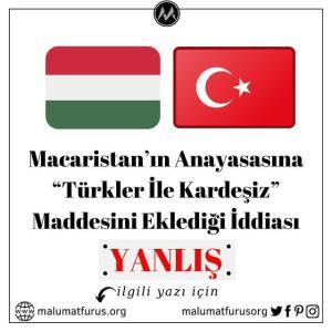 macaristan türkler ile kardeş