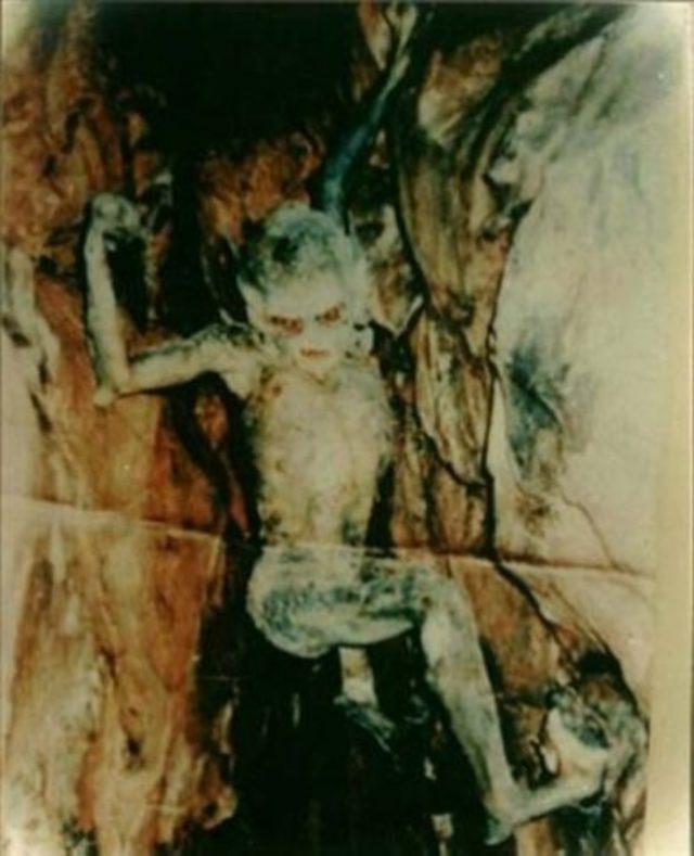 Mağara Cinine Ait Olduğu İddia Edilen Fotoğraf