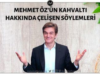 Mehmet Öz'ün Kahvaltı Hakkında Çelişen Söylemleri
