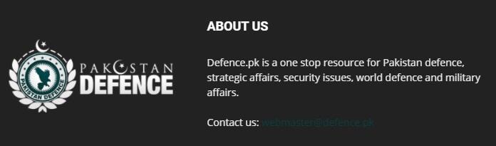 pakistan defence sitesi