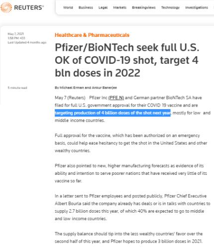 pfizer biontech aşı hedefi