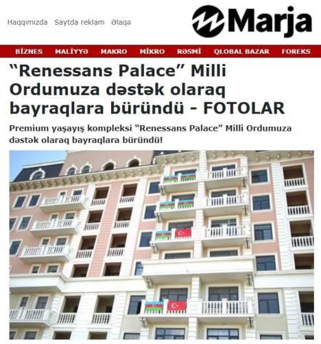 renessans palace bayrak