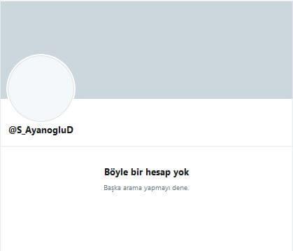 Süleyman Ayanoğlu twitter