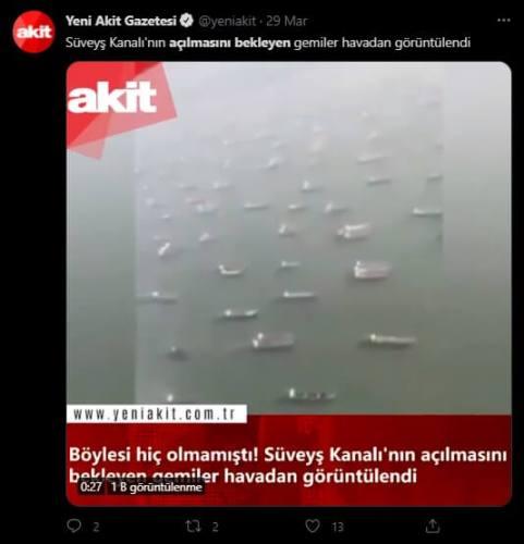 süveyş kanalını bekleyen gemiler gemiler