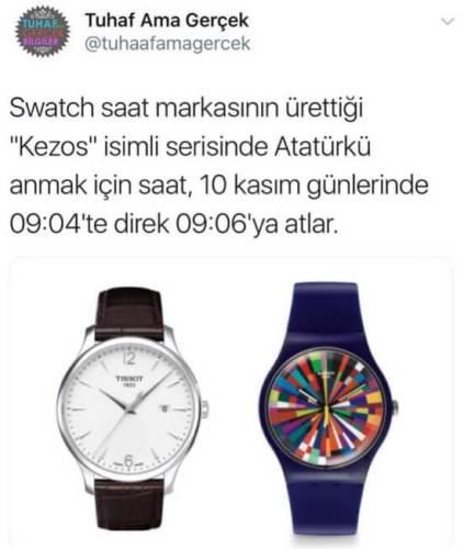 swatch atatürk saat