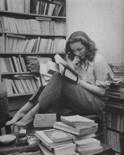 Sylvia Plath'e ait sanılan Barbara Laage'ye ait fotoğraf