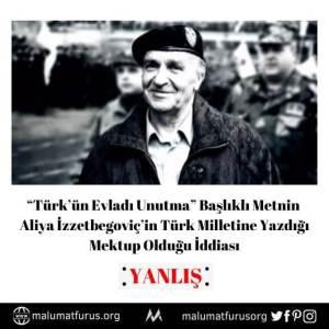 türkün evladı unutma aliya izzetbegovic