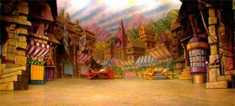 Malvern Hostick Design For Cinderella Set Design Page